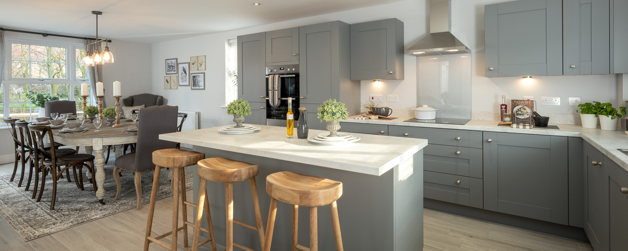 Mulgrave Properties kitchen dining area