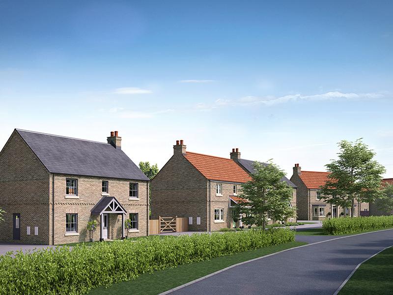 Mulgrave Properties Marton Cum Grafton street scene CGI