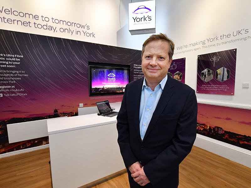 TalkTalk Executive Chairman Charles Dunstone