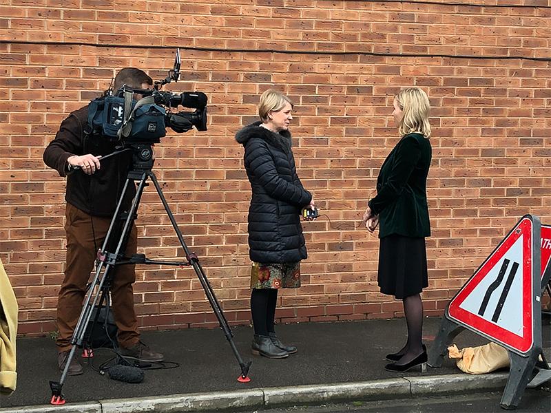 TalkTalk CEO Tristia Harrison interviewed by BBC